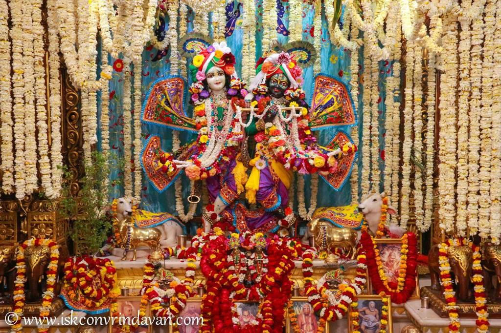 ISKCON Vrindavan Sringar Deity Darshan 28 Feb 2016 (5)
