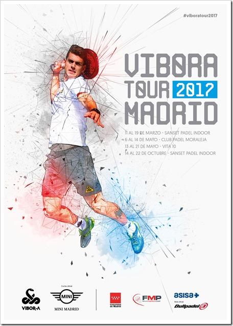 Se presenta el VIBORA Pádel Tour 2017 Madrid amparado por la FMP.