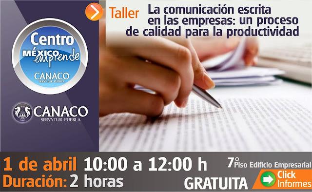 Conferencia sobre Comunicación escrita