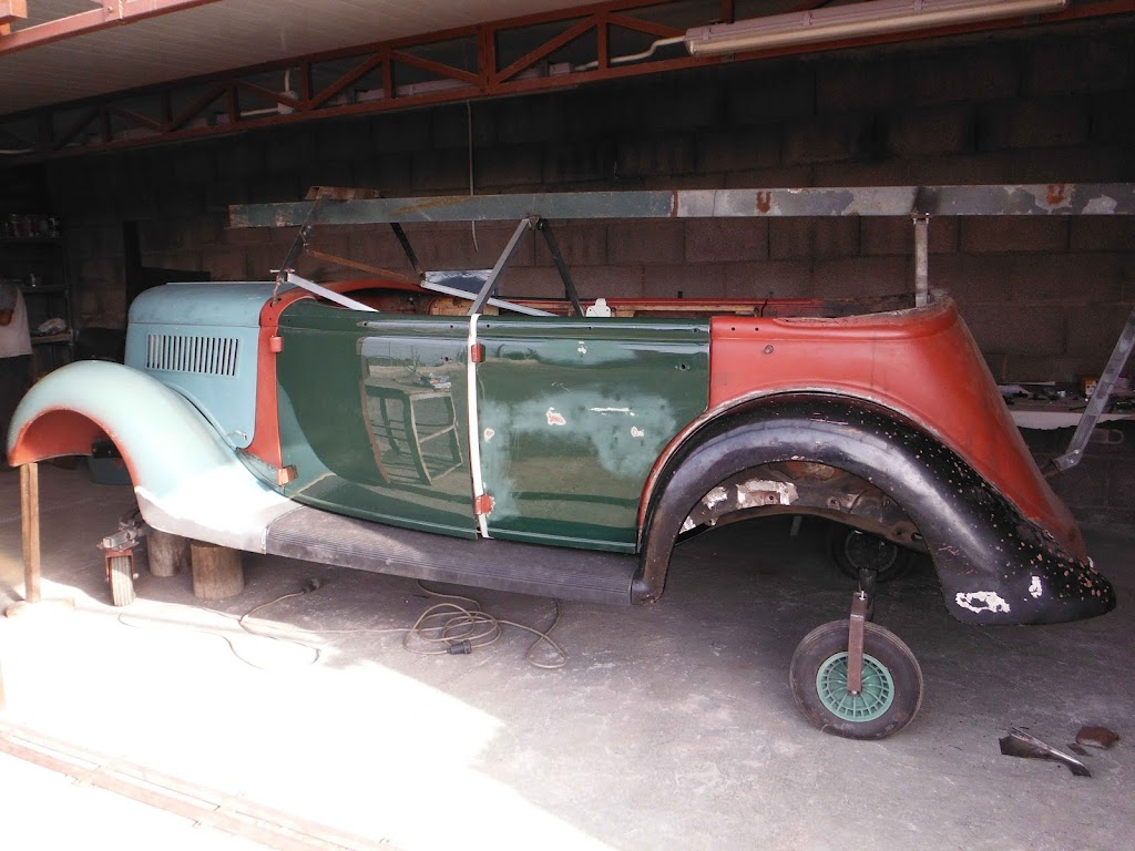 1935 Ford front fender - running board alignment - The Ford Barn