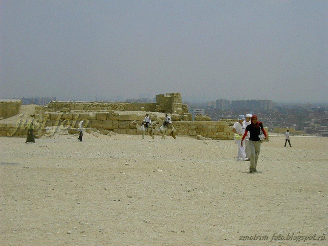 Каир, египетские пирамиды
