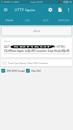 Fitur Baru Http Injector