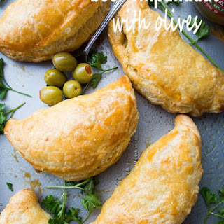 Beef Empanadas with Olives.