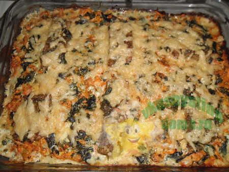 Приготовление филе рыбы запеченное с овощами в духовке
