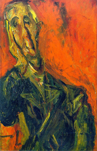 Chaim Soutine - Man in a Green Coat