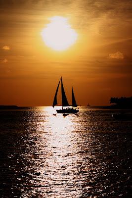 Veleggiando al tramonto di mattia pellegrini