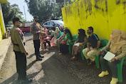 Kompol Supratman Pimpin Giat Imbauan Protokol Kesehatan di Wilayah Desa Jalancagak