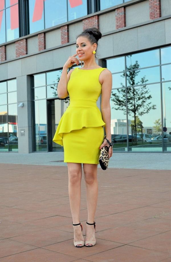 THE BEST PEPLUM DRESS AND OUTFIT STYLES FOR LADIES IN 2018 5
