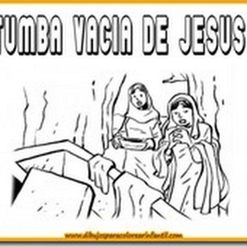 Dibujos para colorear de Jesus Semana Santa