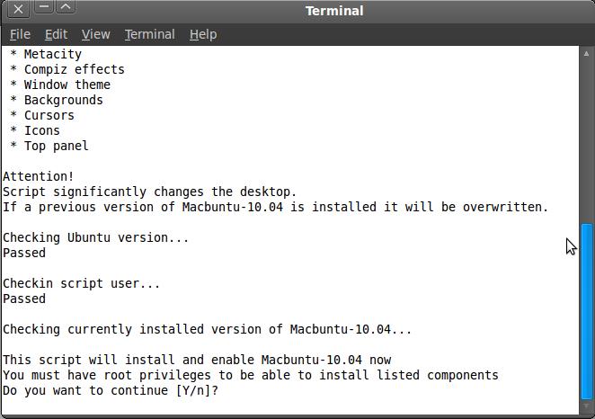 Ubah Ubuntu jadi Mac 2