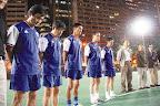 余國森(左起)、黃文偉等上世紀球星在華協盃決賽前為林尚義默哀。