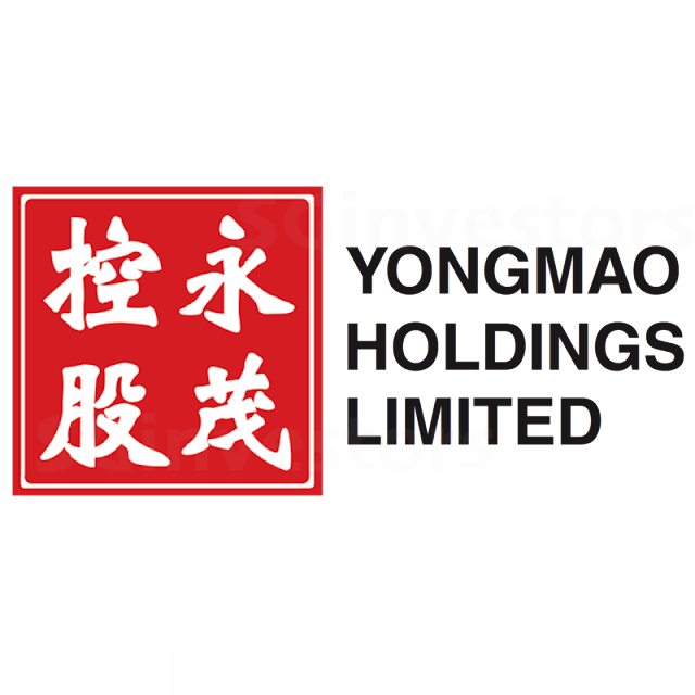 YONGMAO HOLDINGS LIMITED (BKX.SI) @ SG investors.io