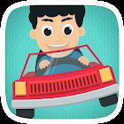 驾驶玩具车儿童游戏免费为幼儿,婴儿男孩和学龄前儿童 icon