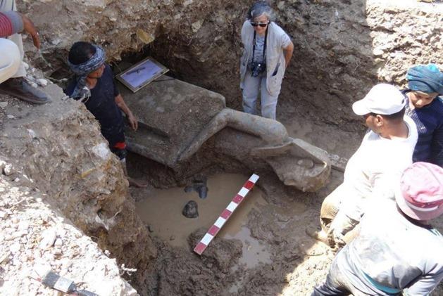 Os arqueólogos descobrem o antigo templo egípcio com dezenas de deusas de guerra chefiadas por leões 03