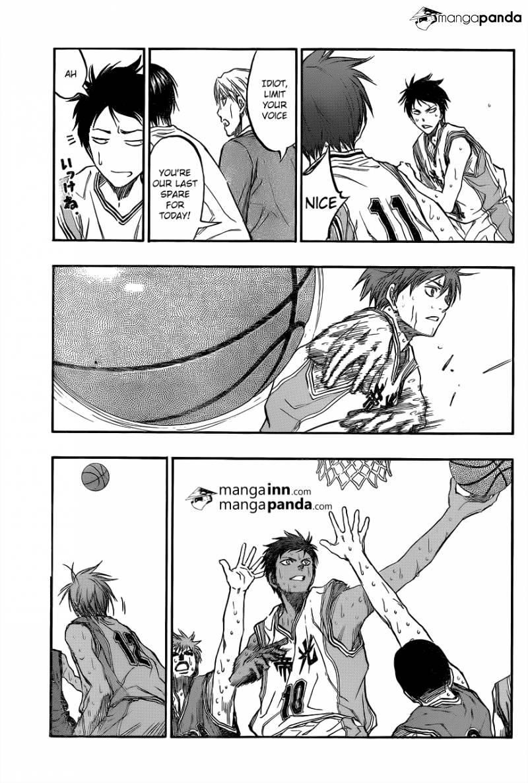 Kuroko no Basket Manga Chapter 208 - Image 13
