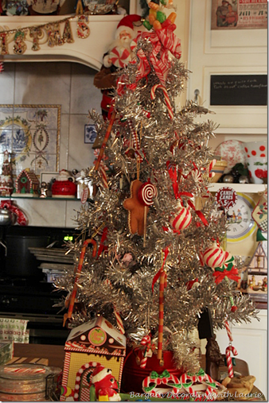 Kitchen Candy Theme Christmas Tree