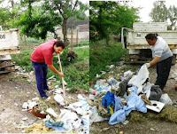 Retoman las tareas después de las lluvias en Cañuelas