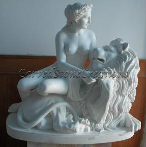 Animal, Exterior, Figure, Ideas, Interior, Lion, Marble, Statues