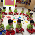 Square Day celebration by Nursery Section (2016-17), Witty World, BN