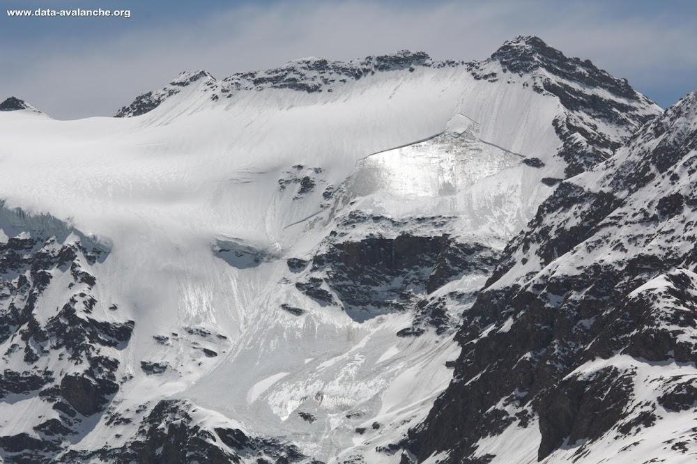 Avalanche Haute Maurienne, secteur Albaron, Glacier Supérieur du Vallonnet - Bonneval sur Arc - Photo 1 - © Duclos Alain