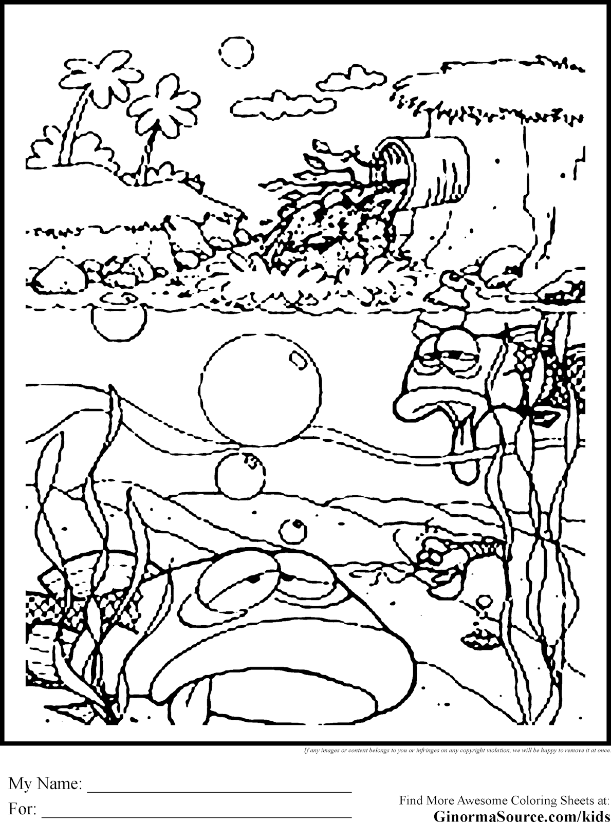 Best 15 Hawaiian Beach Coloring Pages Pictures