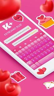 Pink Love ❤️ Keyboard - náhled