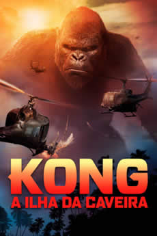 capa Kong: A Ilha da Caveira