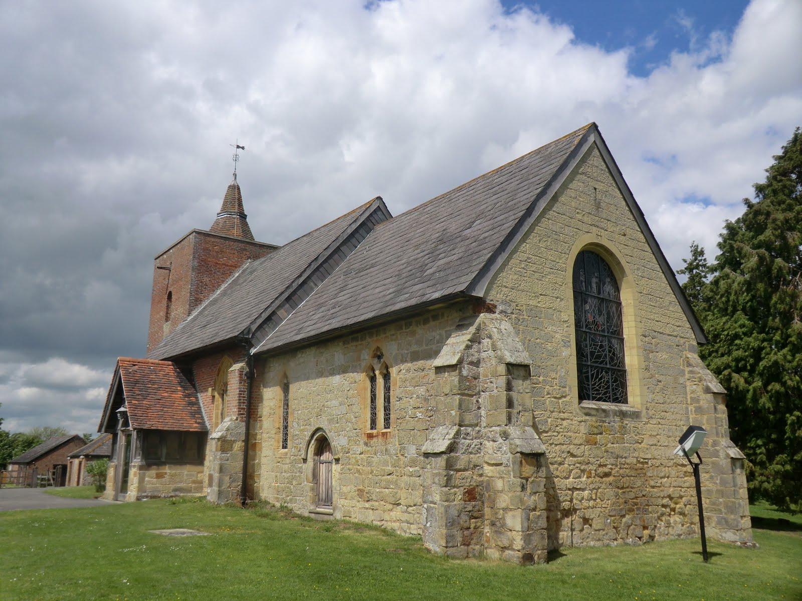 CIMG1553 All Saints church, Tudeley