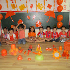 Orange Colour Day (Nursery) 28.09.2016
