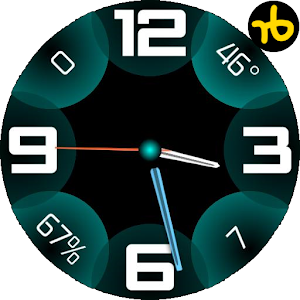 Glowing Bubble Watch Face.apk 1.0
