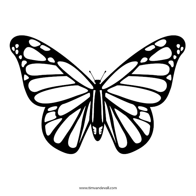 Monarch Butterfly Coloring Page New With Picture Of