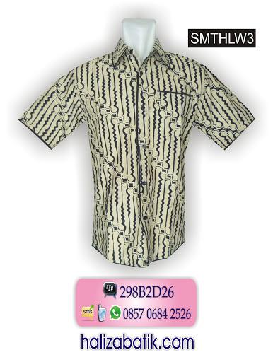 model atasan batik, model baju batik pria, desain baju batik modern