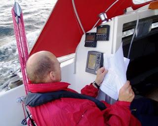 Ruten tastes ind på GPS - SRPI2008