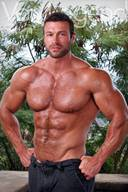 Matt Davis aka Von Legend, Perfect Hot Male Bodybuilder