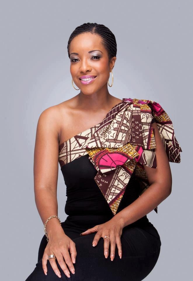 kitenge Print Evening Dresses ## - Fashion 2D