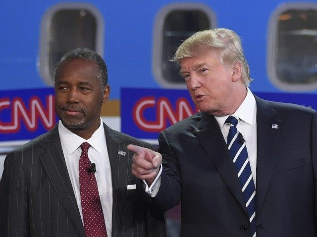 Trump surges ahead of Carson in new poll
