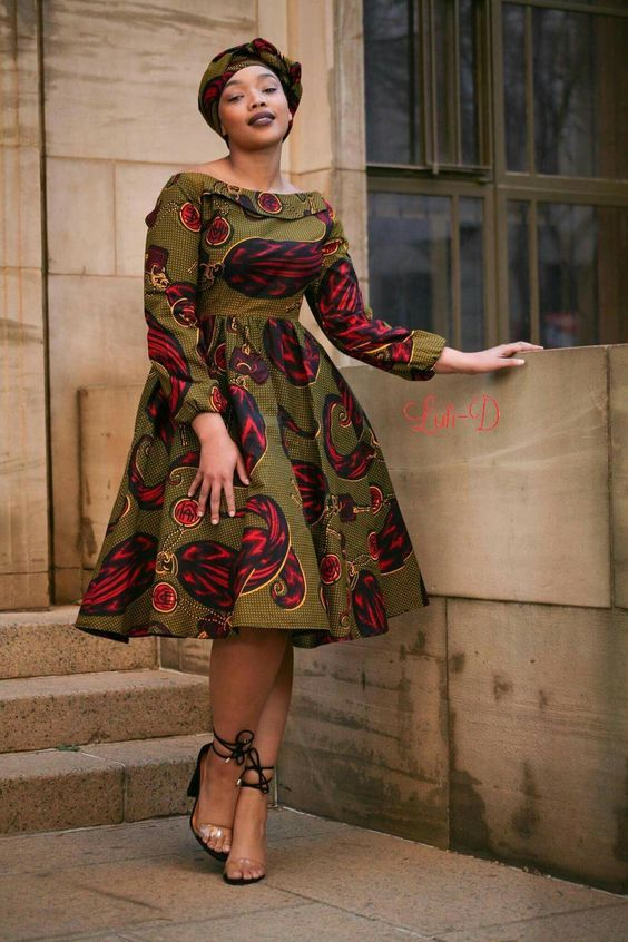 Traditional Shweshwe Dresses 2018 African Traditional Latest African