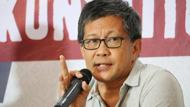 Rocky Gerung: Musim Banjir Jakarta Cebong Hidup Lagi