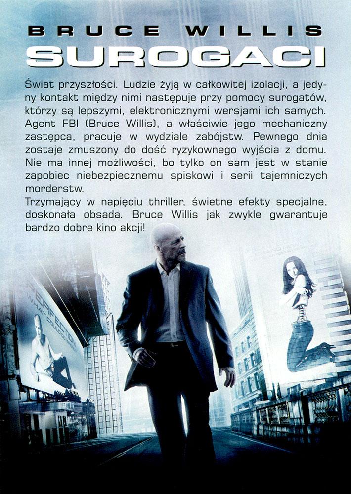 Ulotka filmu 'Surogaci (tył)'