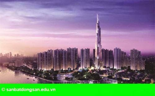 Hình 1: Sắp ra mắt căn hộ tại dự án tổ hợp tháp cao nhất Việt Nam