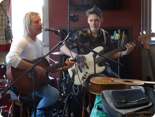 Ed - Eddie Ogle and Eddy Roberts - perform at The Hop  Pole