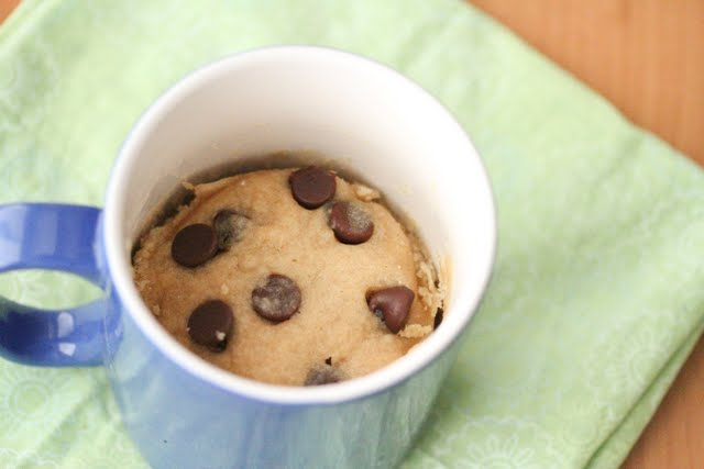 Chocolate Chip Mug Cookie - Kirbie's Cravings