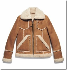 Icon Shearling Jacket in Toffee Natural (59638)
