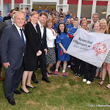 OIC - ENTSIMAGES.COM - Gordon Taylor, Tracey Crouch, HIS EXCELLENCY MR MATTHEW BARZUN and SAMANTHA BOND with Sponsors at the  Official Reception at US Ambassador's Regents Park Residence  for Special Olympics GB's World Games team London  20th July 2015 Photo Mobis Photos/OIC 0203 174 1069