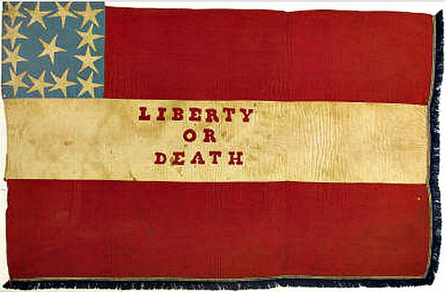 Gettysburg Confederate flag