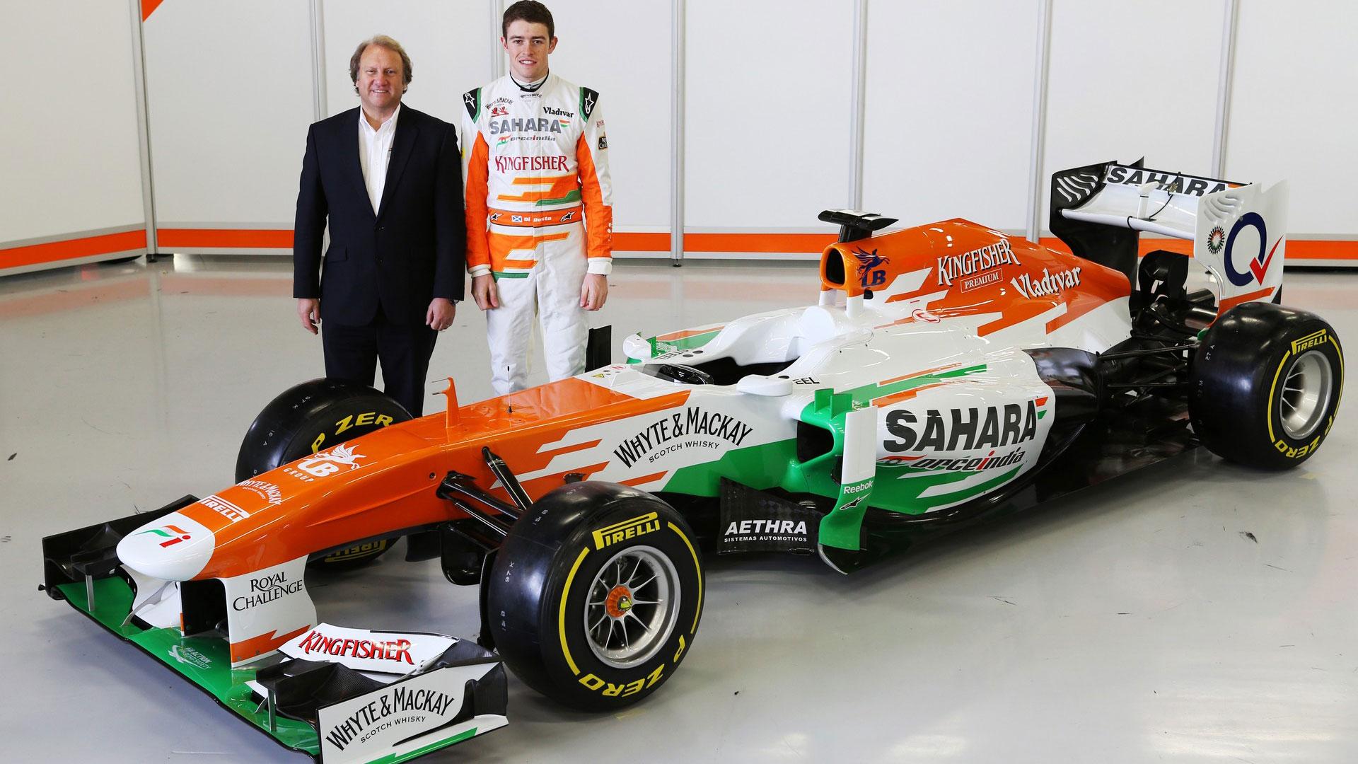 Hd Pictures 2013 Launch Force India Vjm06 F1 Car F1 Fansite Com
