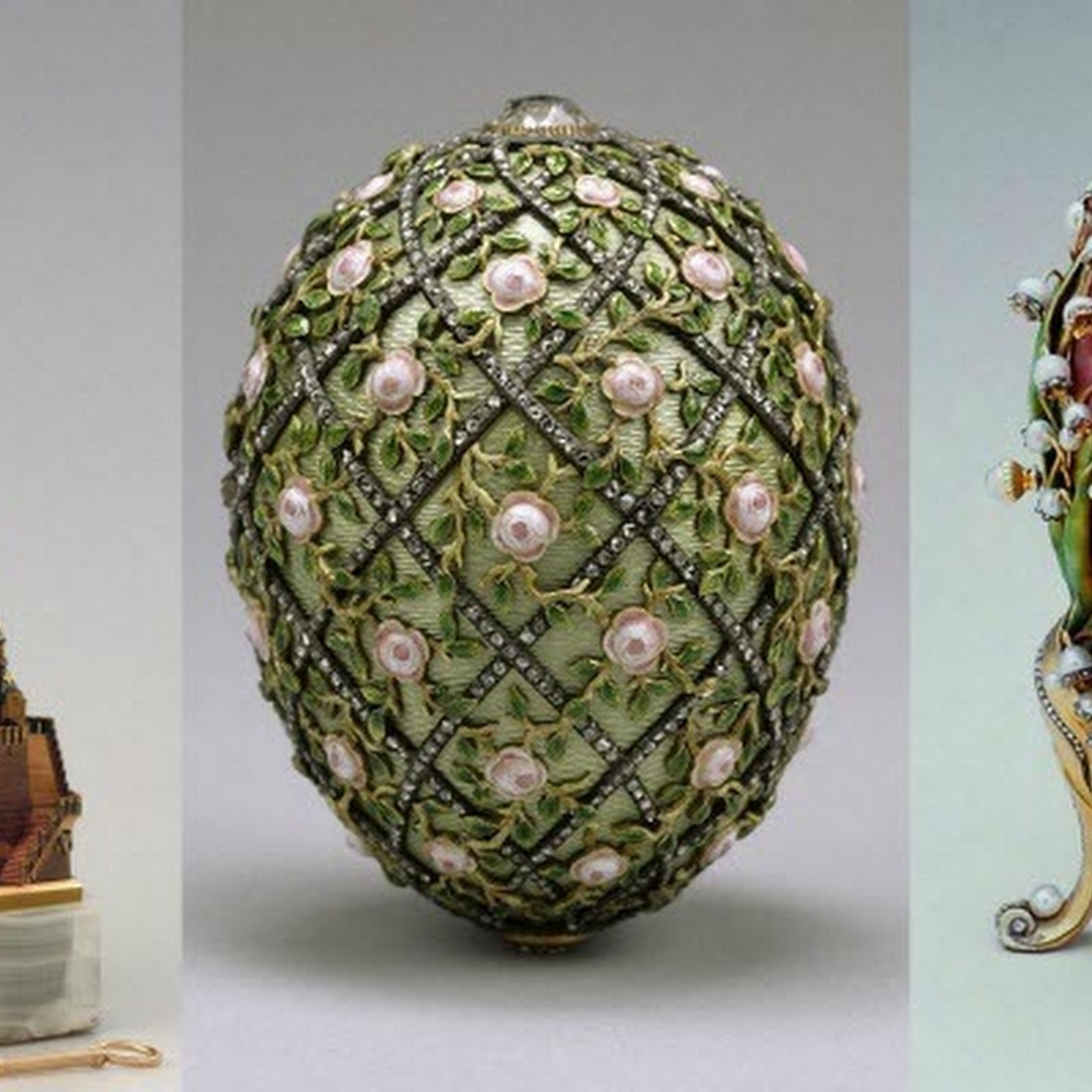 The Fabulous Fabergé Eggs of The Russian Imperial Family