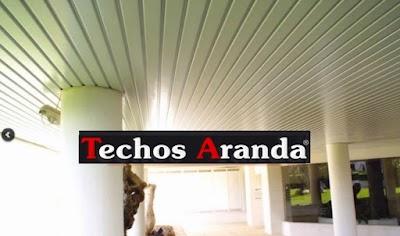 Ofertas economicas techos de aluminio para cocinas Madrid