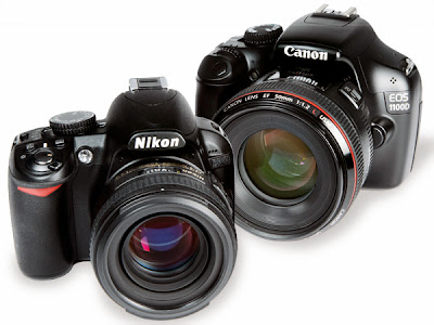 Canon 1100D vs Nikon D3200