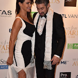 OIC - ENTSIMAGES.COM - Lizzie Cundy and Stephen Handisides at the  My Face My Body Awards London Saturday 7th November  2015 Photo Mobis Photos/OIC 0203 174 1069